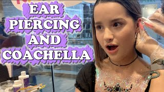 Ear Piercing And Coachella (WK 434) Bratayley