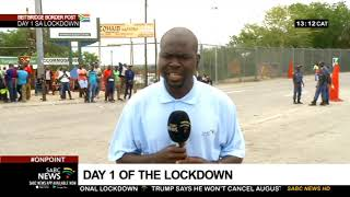 Hundreds of Zimbabwean nationals have been stuck at the Bietbridge border gate since 10 on Thursday night. They were travelling back home ahead of the 21 day national lockdown which came into effect at midnight.  SABC News reporter Mike Maringa has the latest.   For more news, visit sabcnews.com and also #SABCNews #LockdownSA on Social Media.