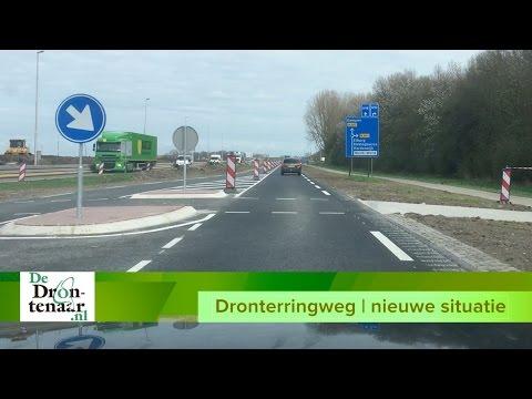 VIDEO | De nieuwe Dronterringweg tussen De Noord en de Biddingringweg