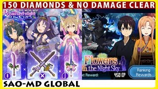 Flowers in the Night Sky Master+1 No Damage Clear & 11 Weapon Scout (SAO Memory Defrag)