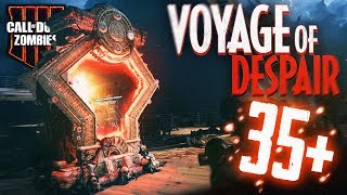 VOYAGE of DESPAIR *EASY* Round 35+ Gameplay/Tutorial! (Black Ops 4 Zombies)