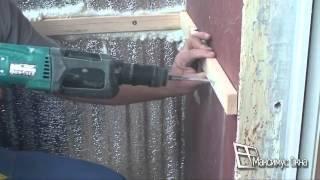 Смотреть онлайн Утепление балкона и лоджии своими руками пошаговая инструкция