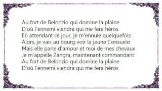Jacques Brel - Zangra Lyrics