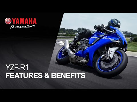 2021 Yamaha YZF-R1 in Ishpeming, Michigan - Video 2