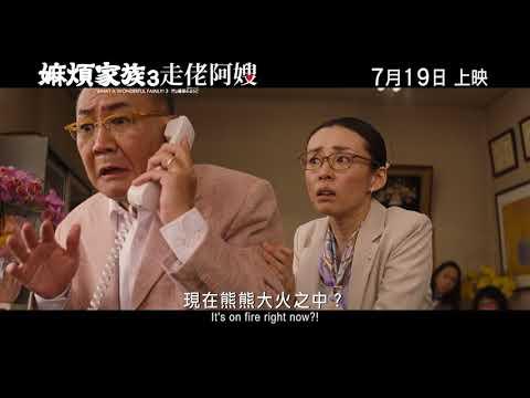 嫲煩家族3 走佬阿嫂電影海報