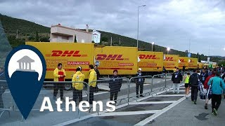 Athens Marathon | Clothes Delivery | Video5