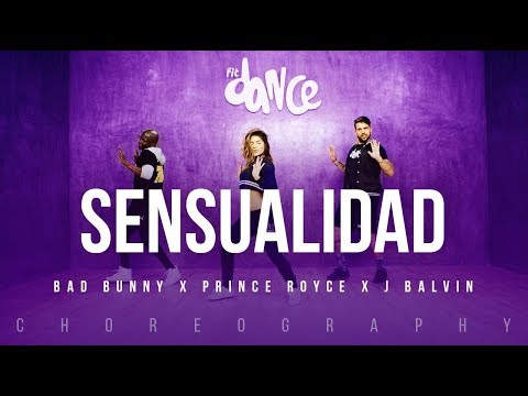 Sensualidad - Bad Bunny X Prince Royce X J Balvin | FitDance Life (Coreografía) Dance Video mp3