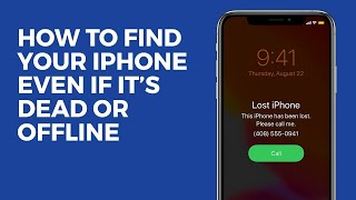 How to Find Your iPhone Even If It's Dead or Offline Updated for iOS 14