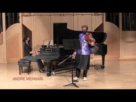 Andre Mehmari - Sonata in C Major for Viola and Piano
