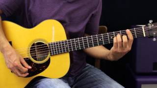 How To Play - The Cure - Friday I'm In Love - Acoustic Guitar Lesson - EASY