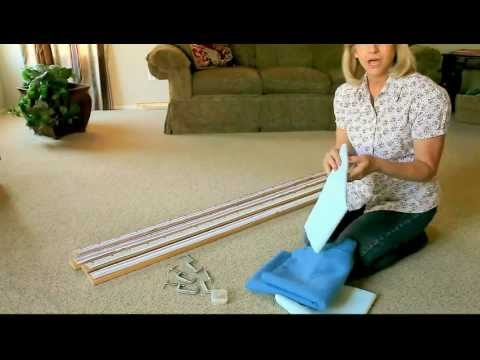 download youtube mp3 attaching the quilt to the frame part 1 of 3 - Diy Quilting Frame