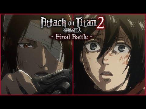 Attack on Titan 2: Final Battle - Thunder Spears Gameplay Trailer (2019)