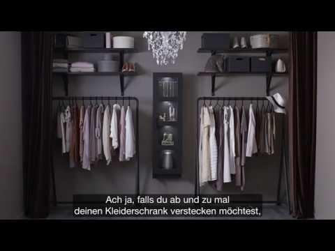 IKEA: Offener Kleiderschrank für Modefans