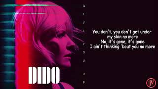 Dido - Give You Up- LYRICS