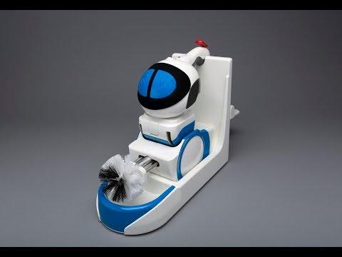 Не сакате да го чистите тоалетот? Роботот Giddel ќе ги заврши највалканите работи наместо вас