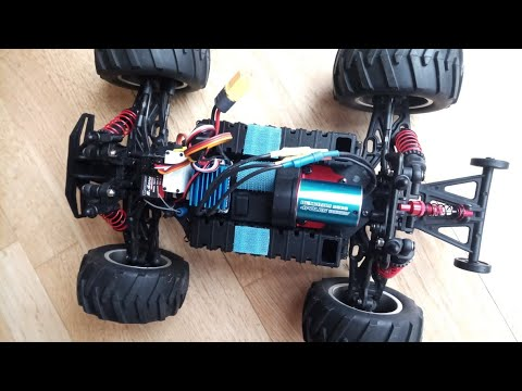 2838 Sensorless Waterproof Motor 3600kv with  35A ESC from Banggood