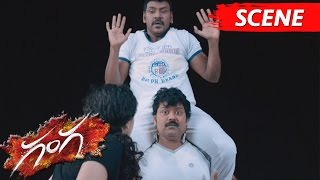 Lawrence And Sriman Hilarious Comedy With Taapsee  Ganga Movie Scenes