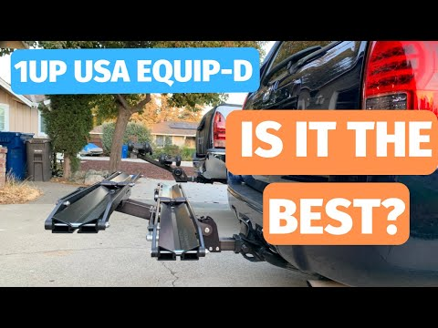 1Up USA bike rack review - Equip-D model - Is it the best hitch rack available