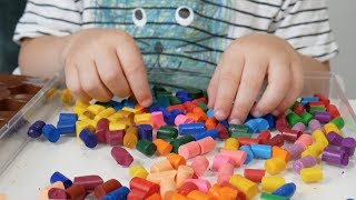How To Melt Crayons In Molds