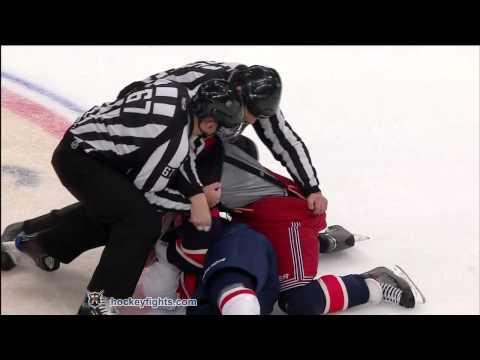 Sean Avery vs. Matt Hendricks