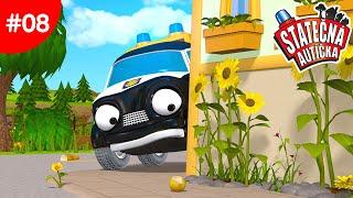 Statečná autíčka - Neznámý zloděj