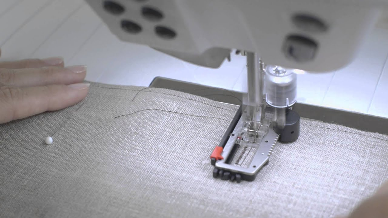 BERNINA 880 how to sew buttonholes and sew on buttons