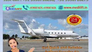 Fast Medilift Air Ambulance Service in Varanasi