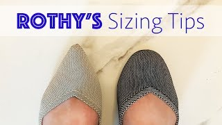 Rothy's Sizing | Tips to Buy the Right Pair