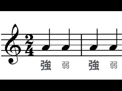 強拍、弱拍和「多層級」的拍子