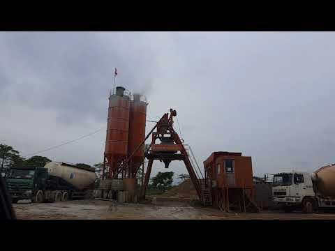 Phúc Thọ (Hà Nội): Trạm trộn bê tông Cường Thịnh hoạt động không phép, gây ô nhiễm môi trường