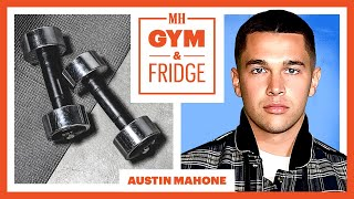 Austin Mahone Shows His Gym & Fridge And Sick Sneaker Collection | Gym & Fridge | Mens Health