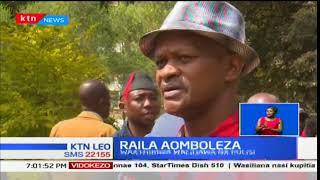 Raila Odinga aongoza kikao cha kuomboleza familia zilizofiwa kwenye maandamano