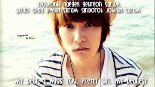 My Dear - Jeongmin (Eng sub, Rom)