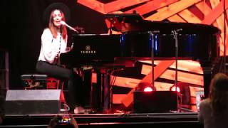 Chantal Kreviazuk - Leaving On A Jet Plane (Live @ The Drum Is Calling Festival in Vancouver, BC)