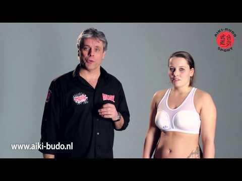Vrouwen vechtsport borstbeschermer: CoolGuard
