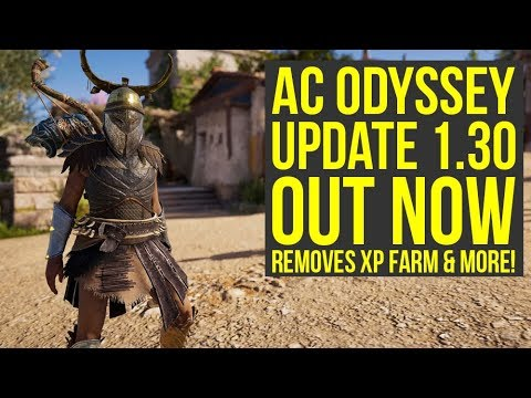 Assassin's creed Odyssey Update 1.30 OUT NOW - Everything You Need To Know (AC Odyssey Update 1.30)