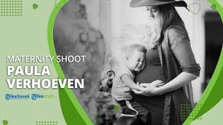 Jelang Kelahiran Anak Kedua, Paula Verhoeven Jalani Maternity Shoot dengan Putranya Kiano