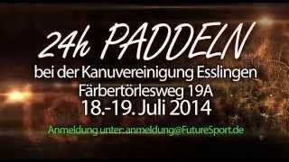 preview picture of video '24h Paddeln 2014 - Esslingen'