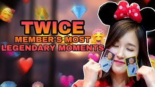TWICE Member's Most Legendary Moments