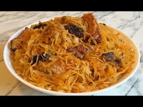 ОБАЛДЕННЫЙ БИГУС ЭТО НЕЧТО!!! / Тушеная Капуста с Мясом / Bigos Polski / Cabbage with Meat