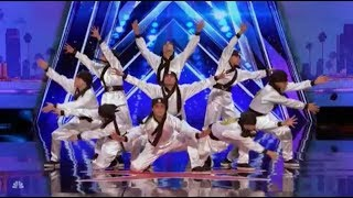 Just Jerk: Dancers From Korea With CRAZY Moves   Auditions 4   America's Got Talent 2017