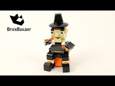 Vidéo LEGO Saisonnier 40204 : Le festin des pèlerins