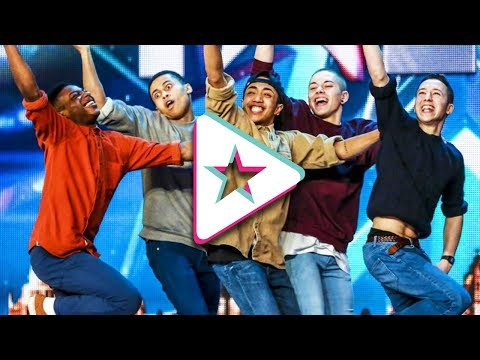 BEST EVER Dance Crewes on Britain&#39s Got Talent