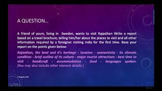 ISC Report Writing | Travellogue/Travel Report/Travel Brochure by Prosenjeet Dasgupta