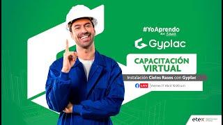 Capacitación   Instalación Cielos Rasos con Gyplac