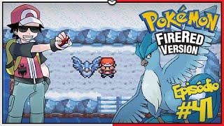 Articuno  - (Pokémon) - Pokémon Fire Red Let's Play #41: Hora de Capturar o Articuno, Ave da Jaina!