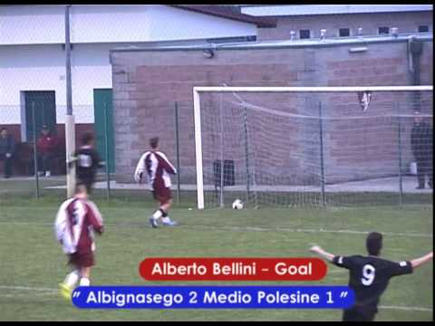 Preview video ALBIGNASEGO - MEDIO POLESINE 4-2 (Juniores Reg.li 15.11.2014)