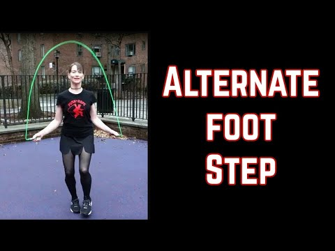 Jump Rope: Alternating Leg Hop