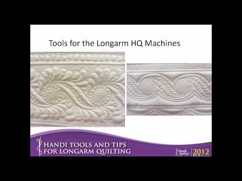 Tools and Tips for Longarm Quilting