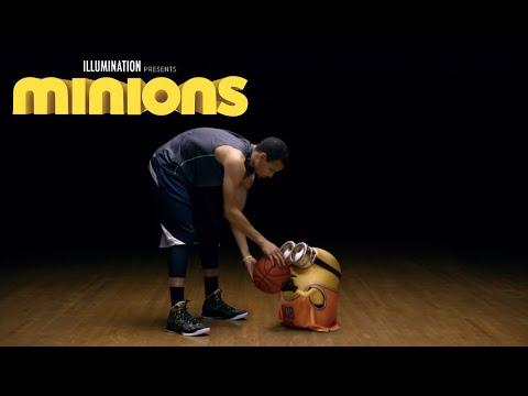 【把球給我】NBA 冠軍賽第三場即將開打!!黃色小小兵也想跟浪花兄弟一起打球阿!!